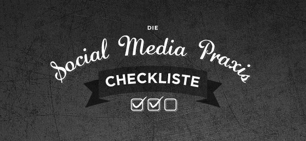Social Media Marketing Checkliste (Teaser) © SENF.heinemann